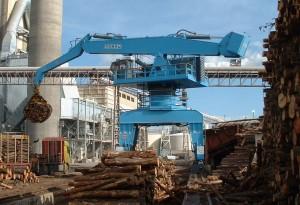 Gamme S150 - Manutention bois et grumes