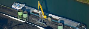 Nancyport - Grue portuaire équilibrée
