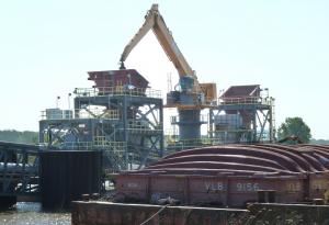 Holcim - Grue portuaire