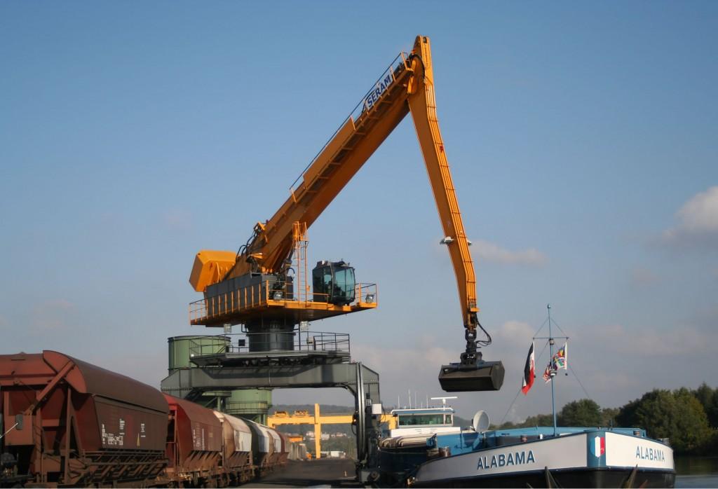Grúas equilibradas portuarias Grue portuaire
