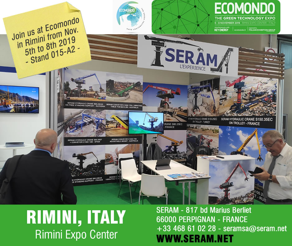 SERAM at Ecomondo