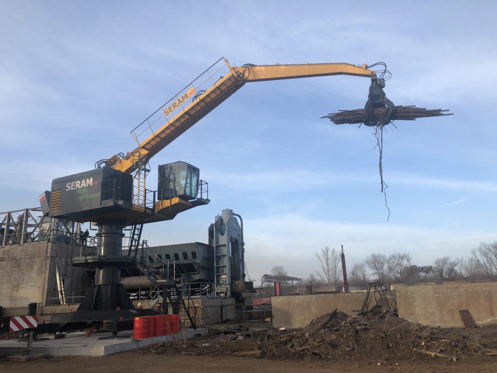 Seram ES2 crane